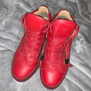 Men's Giuseppe Red High Tops